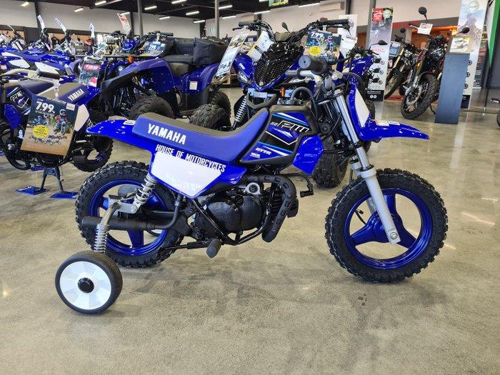 2021 Yamaha PeeWee 50 (PW50) PeeWee Team Yamaha Blue & White