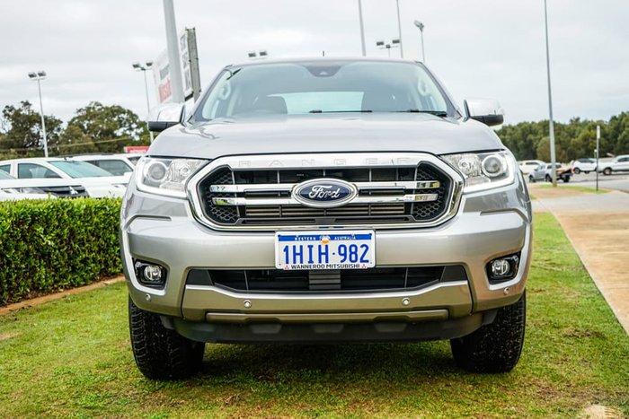2019 Ford Ranger XLT PX MkIII MY19.75 4X4 Dual Range Aluminium