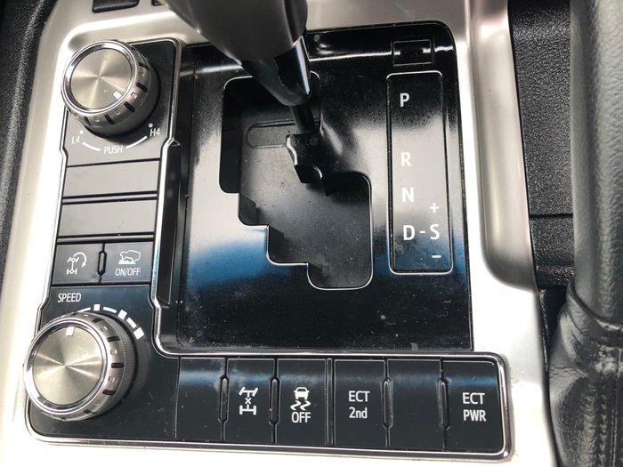 2017 Toyota Landcruiser GXL VDJ200R 4X4 Dual Range Silver Pearl