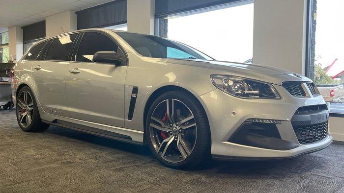 2016 Holden Special Vehicles Clubsport R8 Tourer LSA GEN-F2 MY16 Silver
