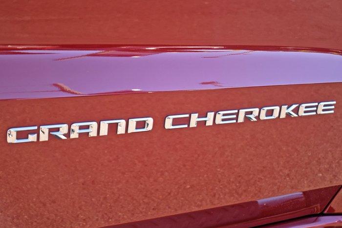 2015 Jeep Grand Cherokee Overland WK MY15 4X4 Dual Range Deep Cherry Red
