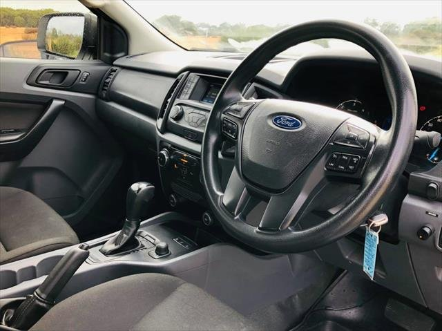 2017 Ford Ranger XL PX MkII 4X4 Dual Range WHITE