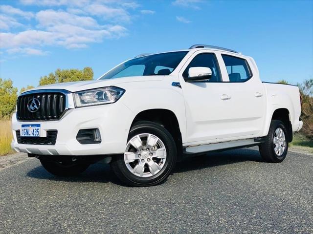 2018 LDV T60 PRO T60 4X4 PRO D/CAB UTE BLANC WHITE