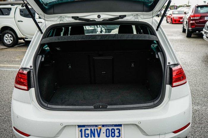 2018 Volkswagen Golf 110TSI Highline 7.5 MY19 Pure White