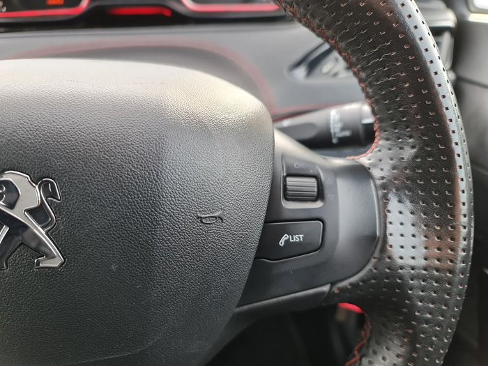2014 Peugeot 208 GTi A9 MY14 Red