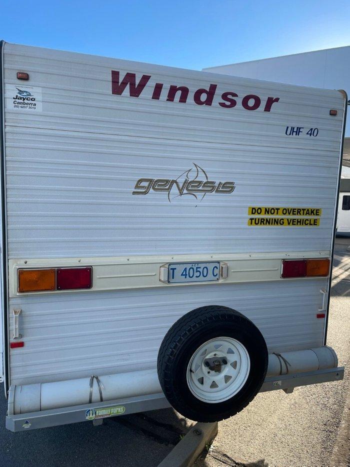 2009 WINDSOR GENISIS CV22582 WHITE