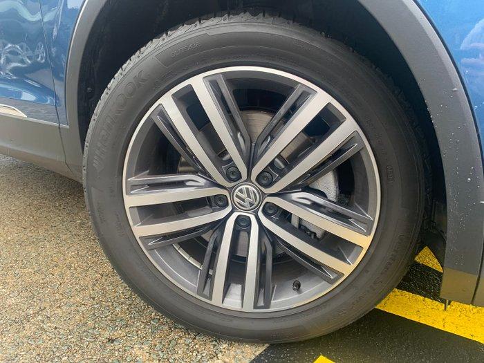 2019 Volkswagen Tiguan 162TSI Highline Allspace 5N MY19.5 Four Wheel Drive Blue Silk
