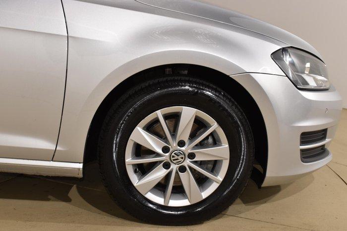 2016 Volkswagen Golf 92TSI Trendline 7 MY16 Silver