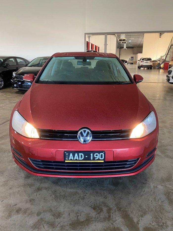 2013 Volkswagen Golf 90TSI Comfortline 7 Red