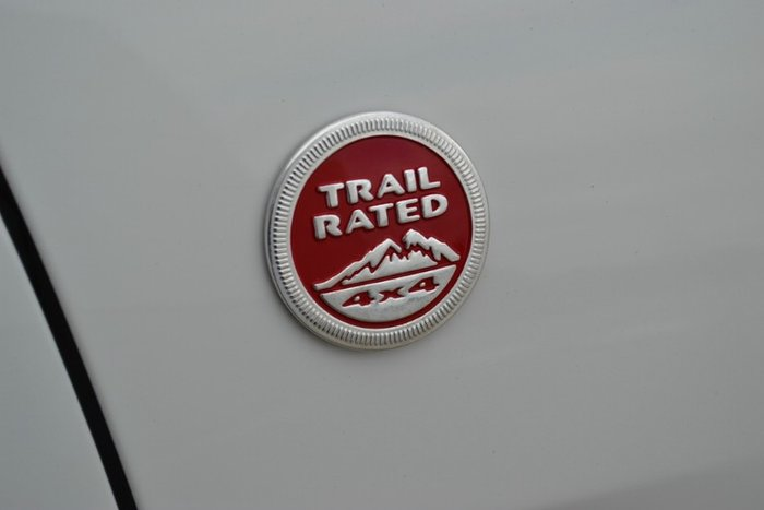 2017 Jeep Grand Cherokee Trailhawk WK MY17 4X4 Dual Range BRIGHT WHITE