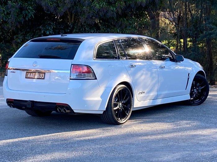 2013 Holden Commodore SS V Redline VF MY14 White