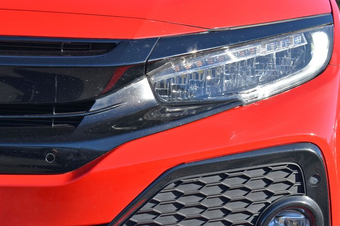 2018 Honda Civic RS 10th Gen MY18 Rally Red