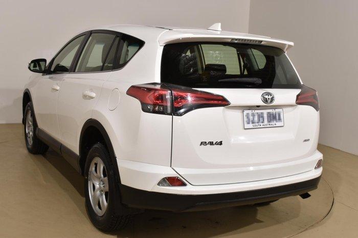 2017 Toyota RAV4 GX ASA44R AWD Glacier White