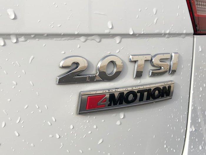 2016 Volkswagen Tiguan 132TSI Comfortline 5N MY17 Four Wheel Drive White