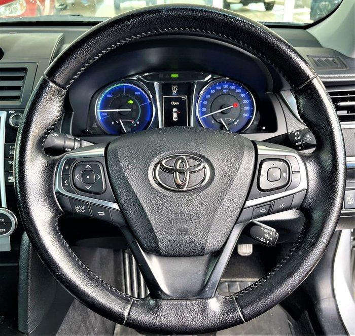 2016 Toyota Camry Atara SL AVV50R Silver Pearl