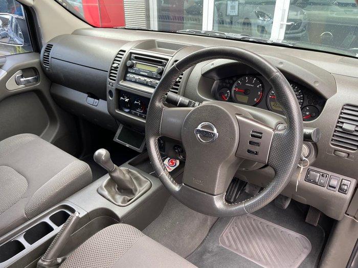 2007 Nissan Navara ST-X D40 4X4 Storm Grey