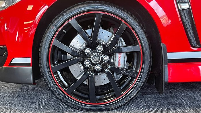 2017 Holden Commodore Motorsport Edition VF Series II MY17 Red