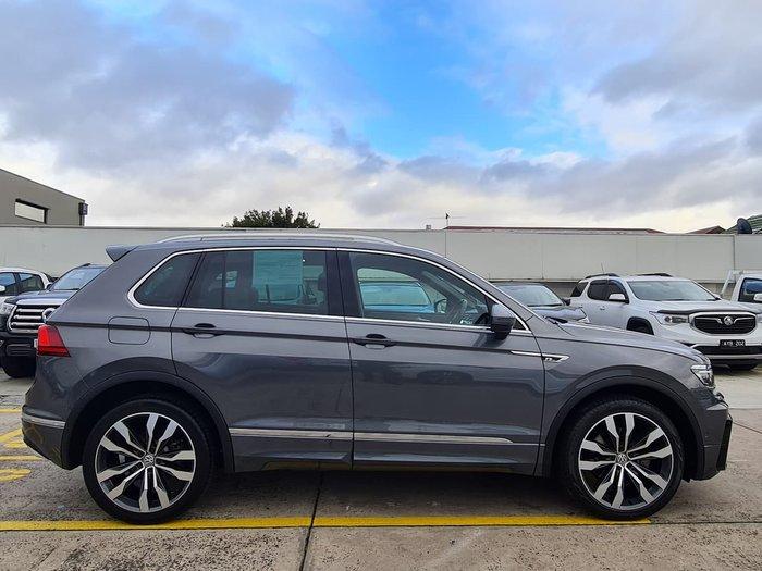 2017 Volkswagen Tiguan 162TSI Highline 5N MY18 Four Wheel Drive Grey