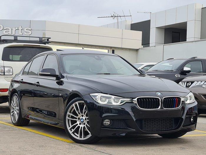 2016 BMW 3 Series 320i M Sport F30 LCI Black