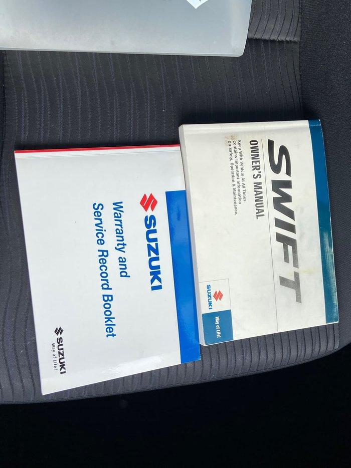 2011 Suzuki Swift GA FZ Black