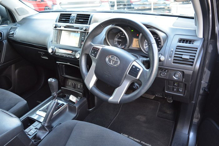 2016 Toyota Landcruiser Prado GXL GDJ150R 4X4 Dual Range Graphite