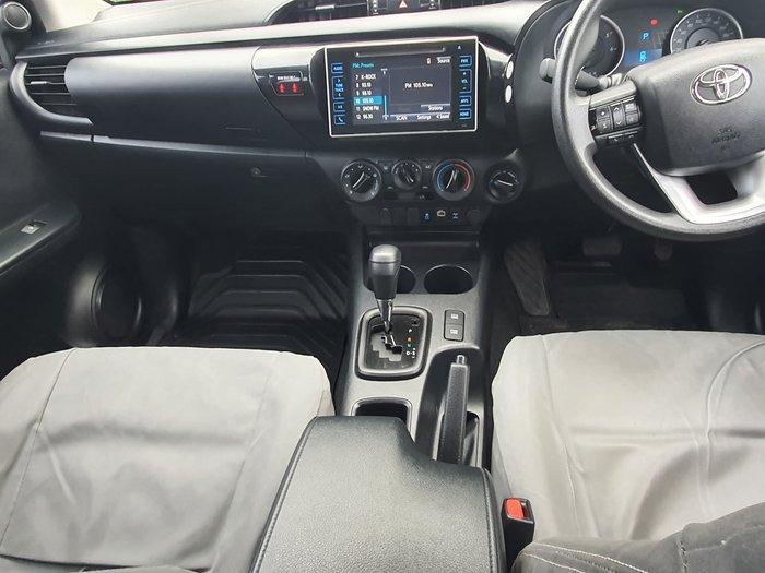2016 Toyota Hilux SR GUN126R 4X4 Dual Range Glacier White
