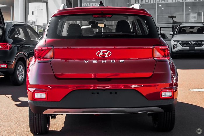 2021 Hyundai Venue Active QX.V3 MY21 Red
