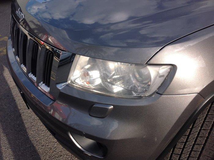 2012 Jeep Grand Cherokee Laredo WK MY12 4X4 Constant Grey