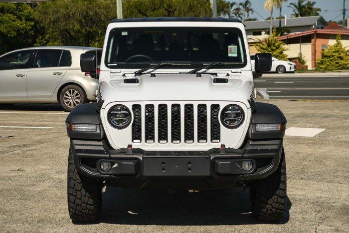 2020 Jeep Gladiator Rubicon JT MY20 4X4 On Demand Bright White