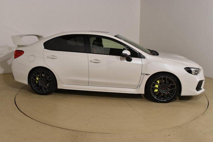 2018 Subaru WRX STI Premium V1 MY18 AWD Crystal White