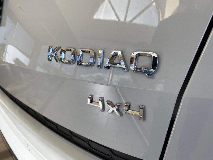 2018 SKODA Kodiaq 132TSI Sportline NS MY18.5 4X4 Moon White