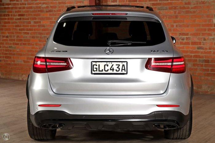 2017 Mercedes-Benz GLC-Class GLC43 AMG X253 Four Wheel Drive Silver