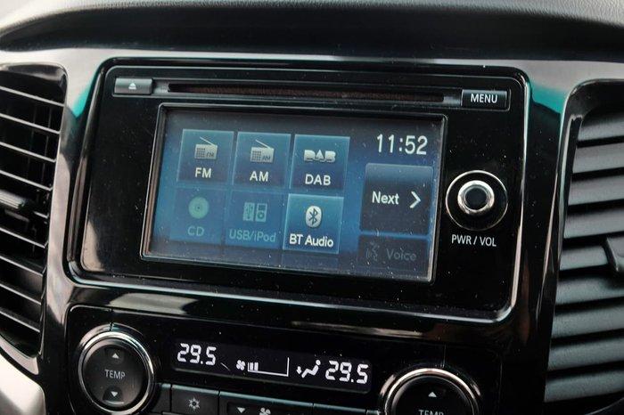 2016 Mitsubishi Triton GLS MQ MY16 4X4 Dual Range Silver