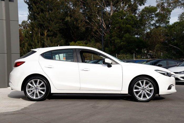 2017 Mazda 3 SP25 BN Series Snowflake White Pearl