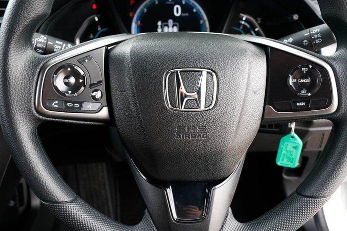 2019 Honda Civic VTi 10th Gen MY18 White Orchid