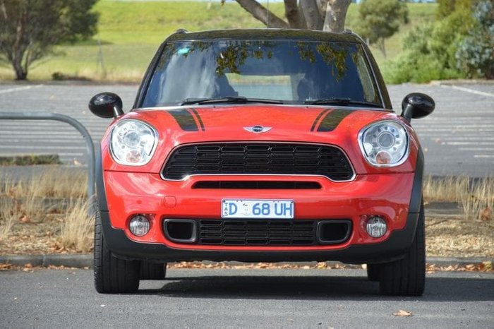 2013 MINI Countryman Cooper S R60 Red