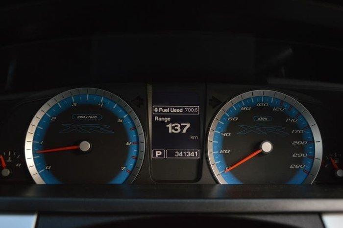 2010 Ford Falcon XR6 FG Grey