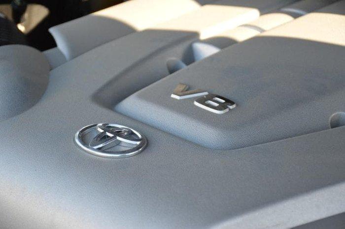 2011 Toyota Landcruiser Sahara UZJ200R MY10 4X4 Constant Silver