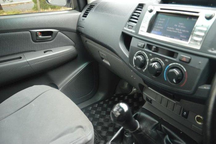 2014 Toyota Hilux SR KUN26R MY14 4X4 Dual Range Glacier White