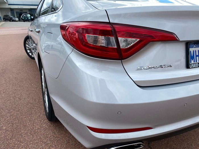 2016 Hyundai Sonata Elite LF MY16 Platinum Silver