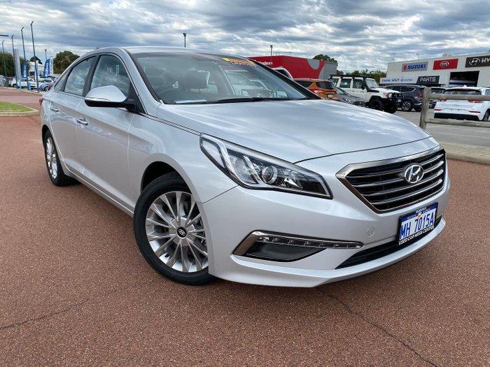 2015 Hyundai Sonata Elite LF Platinum Silver