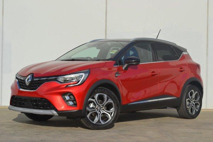 2021 Renault Captur Intens JB FLAME RED W/BLACK ROOF
