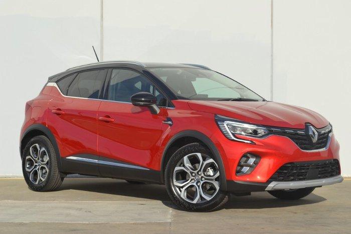 2021 Renault Captur Intens JB FLAME RED