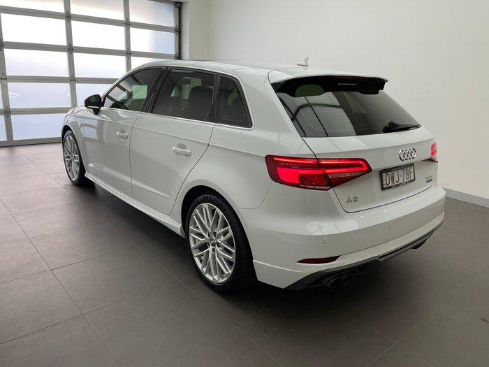 2018 Audi A3 S line 8V MY18 Four Wheel Drive