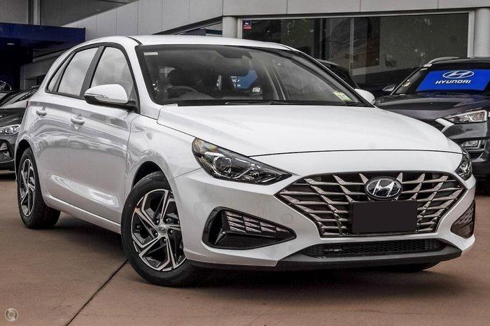 2021 Hyundai i30 PD.V4 MY21 Polar White