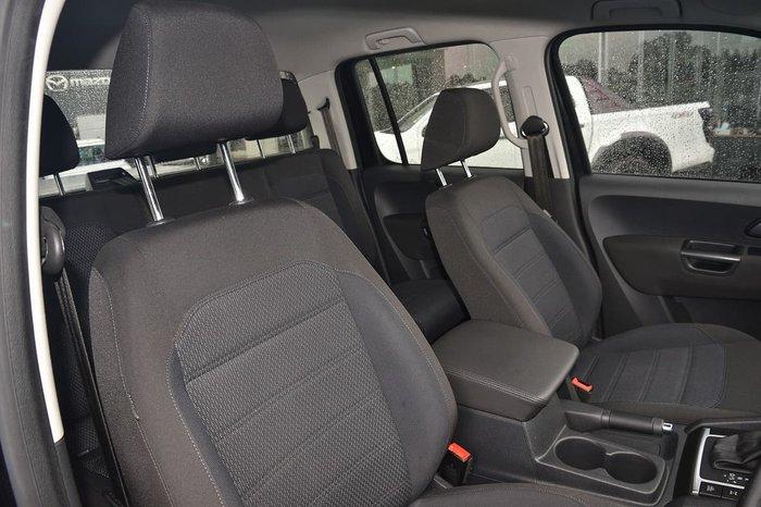 2018 Volkswagen Amarok TDI550 Highline 2H MY18 4X4 Constant Black