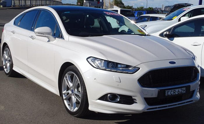 2019 Ford Mondeo Ambiente MD MY19.5 White