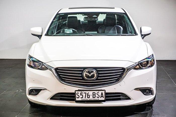 2017 Mazda 6 Atenza GL Series White