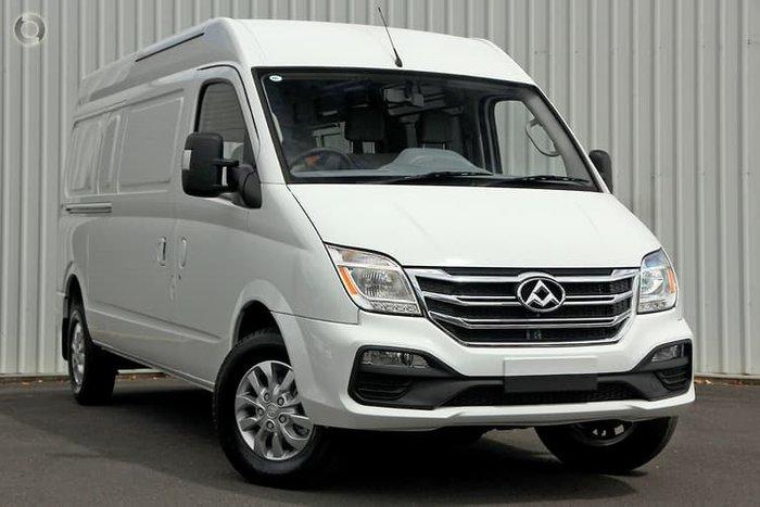 2021 LDV V80 Blanc White