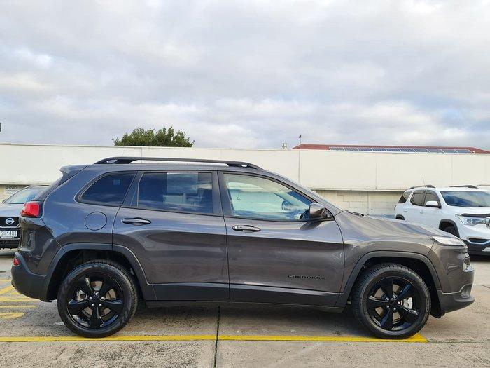2015 Jeep Cherokee Blackhawk KL MY15 4X4 On Demand Grey